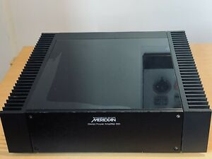 Stereo-Power-Amplifier-Meridian-555-Used-But-Still-Very-Good