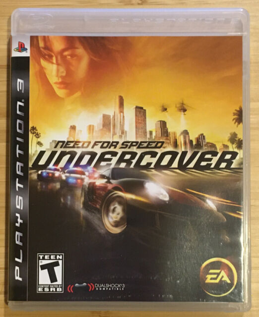Need for Speed: Undercover (Sony PlayStation 3, 2008) - New Out Of Plastic