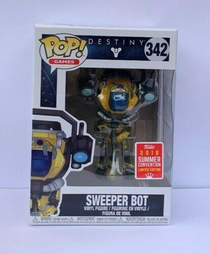 Games Destiny Sweeper Bot Figure SDCC Convention Exclusive 2018 BNIB Funko POP