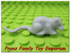 2x Animal souris rat queue Harry Potter gris//light bluish gray 40234 NEUF Lego