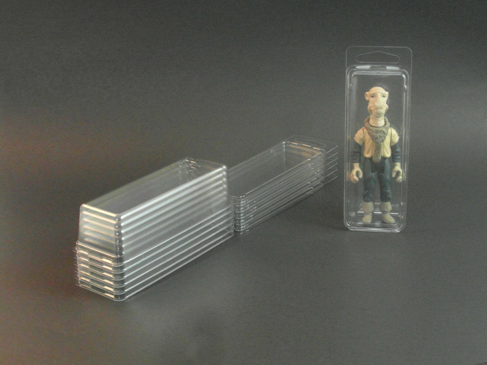 STAR WARS BLISTER CASE - 300 Action Figure Protective Clamshell - SMALL GI Joe