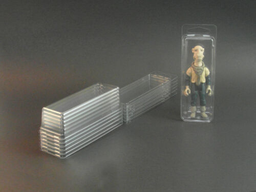 25 Action Figure De Protection Clamshell-Petit GI Joe Star Wars blister Case