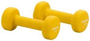 ENERGETICS Hantel Neopren 2x 0.5 kg 5 kg Hantel Fitness Aerobic Kurzhanteln Se