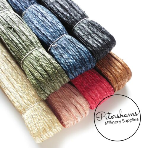 Traditional Millinery Straw Pédale Braid for a Making-Full Hank 80 m