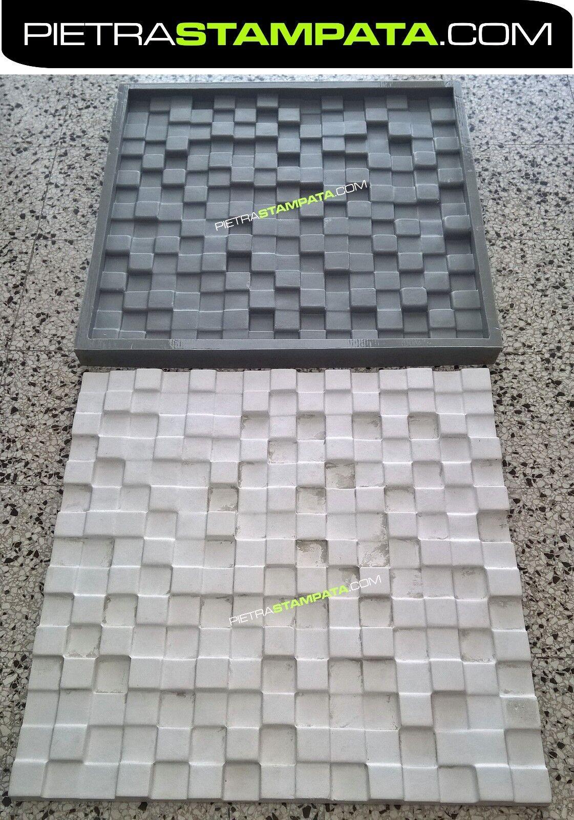 Stampo murale mattone finta pietra wall panel 3d in gesso VENEER STONE MOLD
