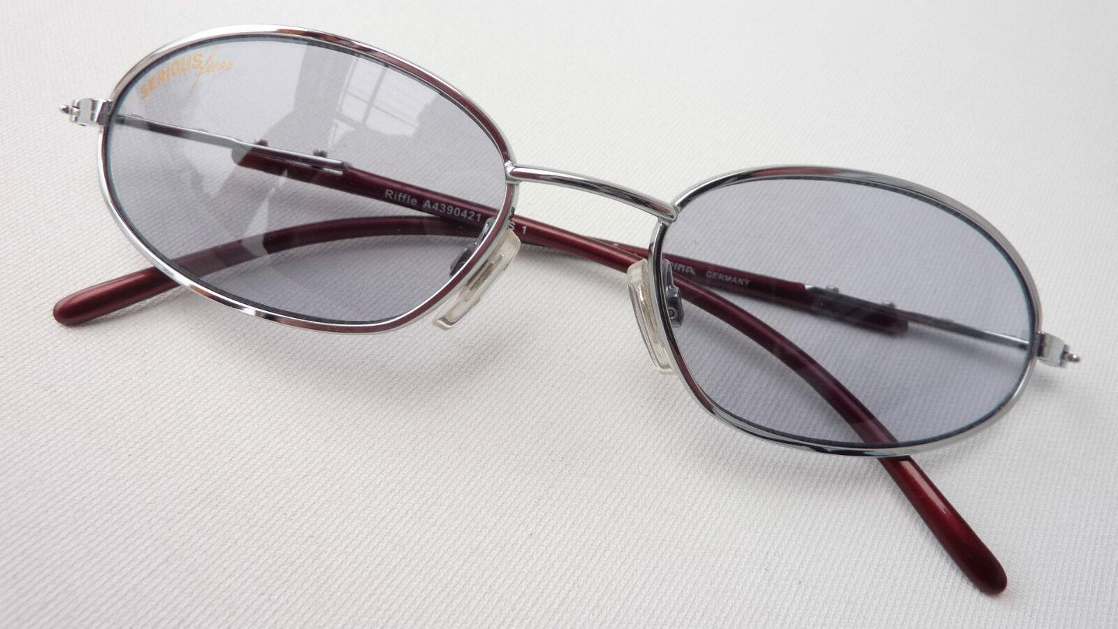 Alpina Curved Sunglasses Sport-Brille Metal Silver Shoppingbrille Size L