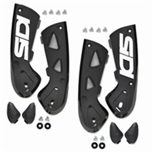 Brackets 45 48 Ankle Covers Pair Black Sidi Moto Vortice nq4Zxf7