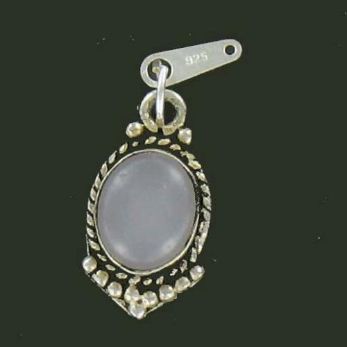 Sterling Silver CHALCEDONY CHARM