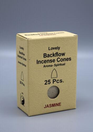 Jasmine Spiritual Aroma Back Flow Cone Incense