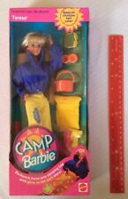 1993 CAMP BARBIE TERESA W/ ACCESSORIES VERY RARE! MATTEL 11078 -NRFB NEW in Box