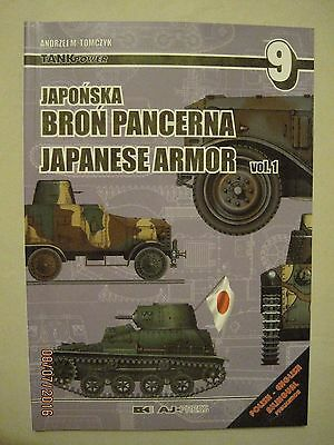 Japanese Armor Vol. 1  Tank Power #9   AJ Press