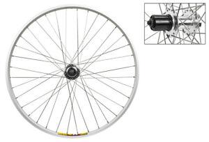 Wheel Rear 700c Weinmann ZAC19 Black MSW 36 Alloy 8S CASS 6B DISC