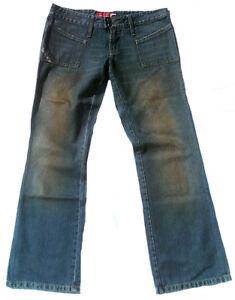 32 Stonewash Dirty Jeans 70 Poches Devant Wash Style Er 40 32 Japon Rock qYwxwBvST