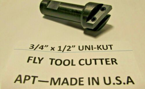 "3//4/"" HEAD FLY CUTTER TOOL--UNI-KUT--U.S.A"