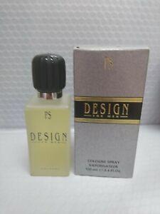 Design by Paul Sebastian 3.4 oz, 100 ml Cologne Spray for Men 100% AUYHANTIC