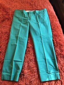 NWT Womens Banana Republic Sloan Curvy Fit Windowpane Slim Ankle Pants $79 *G6