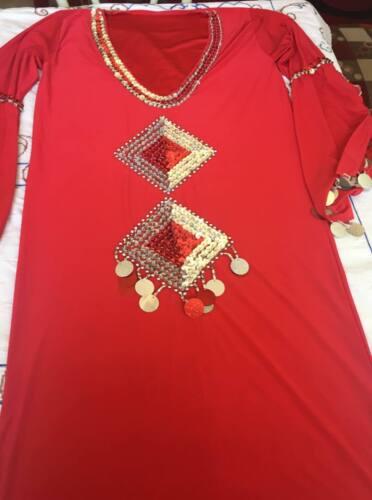 Fallahi Abaya Kaftan Egyptian Belly Dance Dress Saidi Costume,Baladi Galabeya