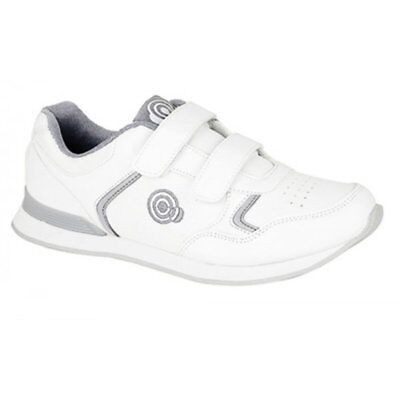 Dek Womens//Ladies Kitty Lace up Trainer-Style Bowling Shoes