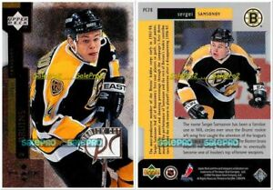UD-BLACK-DIAMOND-1997-SERGEI-SAMSONOV-NHL-BOSTON-BRUINS-MINT-PREMIUM-CUT-PC28