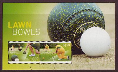 Australien, Ozean. & Antarktis Briefmarken Australien 2012 Rasen Schüsseln Sonderblock Gestempelt Bestellungen Sind Willkommen.