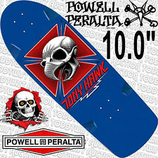 POWELL PERALTA - Tony Hawk - Skateboard Deck - Bones Brigade Re-Issue - BLUE