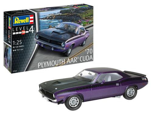 Plymouth AAR Cuda 1970 1:25 NEU//OVP Revell 07664 L4