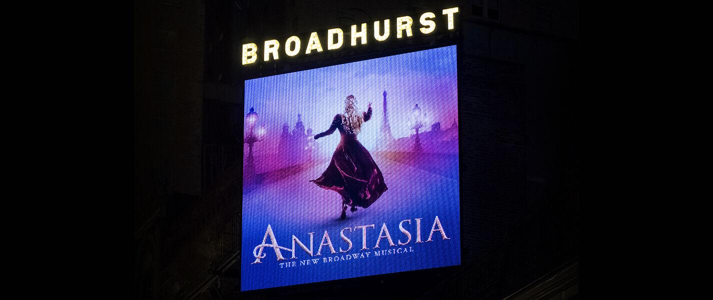 Anastasia the Musical New York | New York, NY | Broadhurst Theatre | December 10, 2017