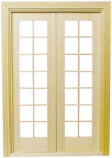 Dollhouse Houseworks Double French Door 1/12 scale  HW6011