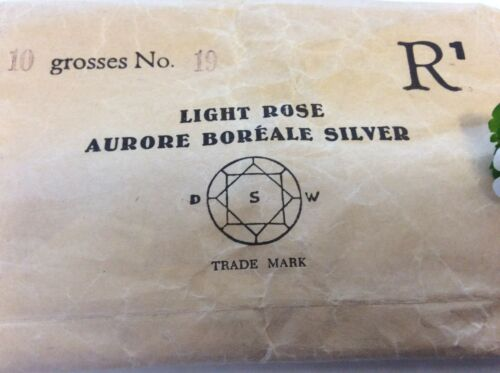 4.4mm Silver Foil CRAFT AB Colour Choice Swarovski Vintage Rhinestones 19SS