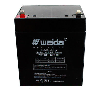6 Pack Brand Product BF350-I BE350 Mighty Max Battery 12V 5Ah Compatible for APC Back-UPS ES 350