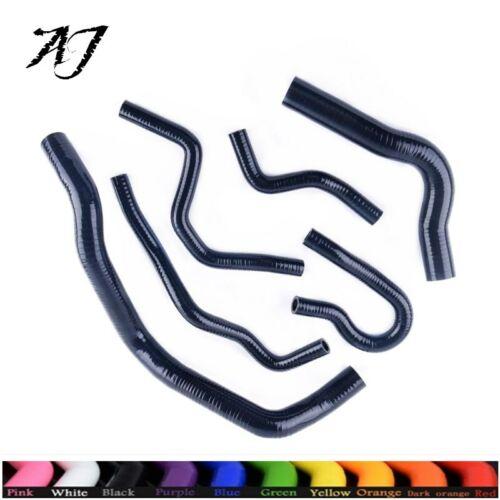 For Acura//Honda Integra Type R DC2//DB8 B18C Silicone Radiator/&Heater Hose Black