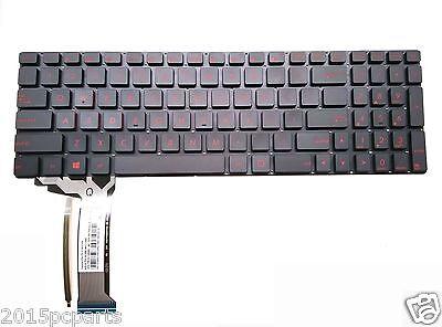 Original New FOR  ASUS GL771 GL752V GL771JM GL771JW US backlit keyboard