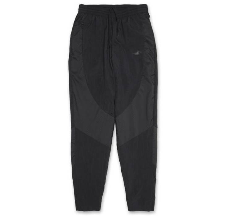 Nike Nike Nike Air Jordan ALI Pantaloni Da Uomo Taglia Media M tutti a triplo nero in tessuto muscolare 1 3 168f75