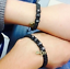 2pcs-Black-or-Red-Handmade-His-and-Hers-Lovers-Matching-Promise-Couple-Bracelet thumbnail 7