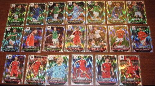 lista FIFA paralelo Prizms Materials 2016 euro Prizm Flash elige tu reproductor #1-250