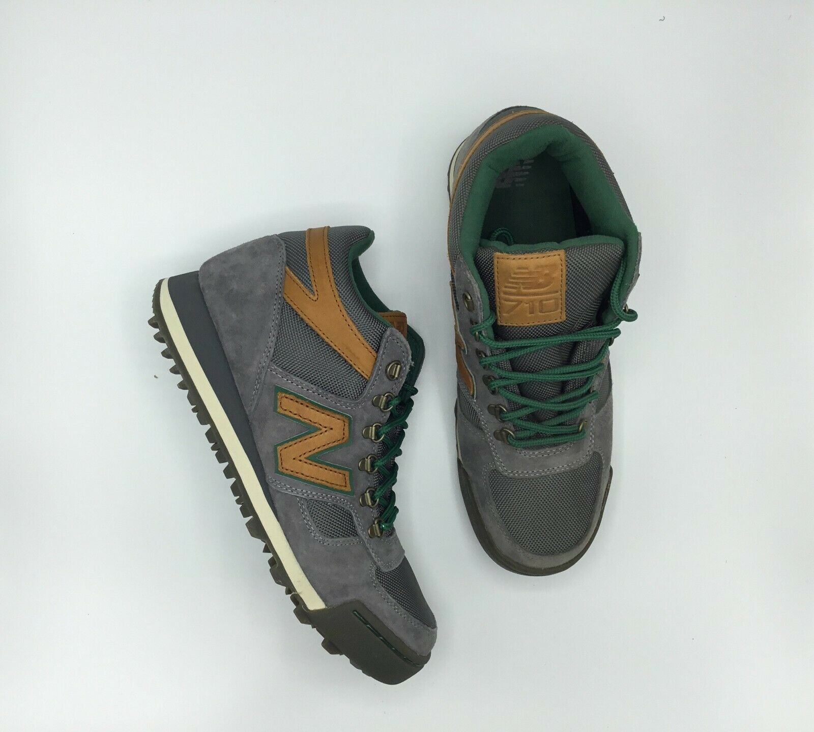 SALE NEW BALANCE H710CTG GREY BROWN GREEN SIZE 8 BRAND NEW IN HAND