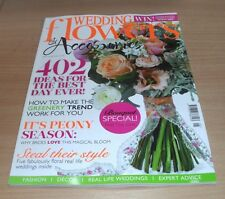 Wedding Flowers & Accessories magazine MAY/JUN 2017 Bouquet Special, Peony &
