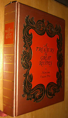 Treasury Of Great Recipes Cookbook By Mary & Vincent Price First Printing 1965