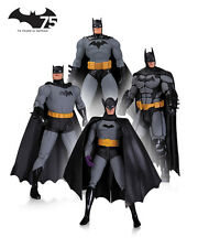 75th Anniversary Batman Action-Figuren 4er-Pack 17 cm DC Collectables Arkham