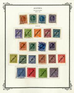 Austria-1910-to-1990s-Loaded-Mint-amp-Used-High-Value-Stamp-Collection