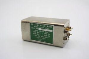 Hp 0960-0151 10.000 Mhz 20v Osc 30v Crystal Oscillator Fcp Pcoxo-hp02