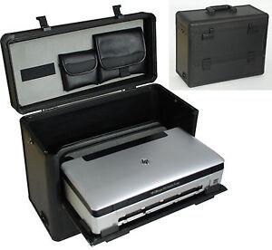 mobile kofferl sung notebook koffer f r notebook und drucker hp officejet 100 ebay. Black Bedroom Furniture Sets. Home Design Ideas