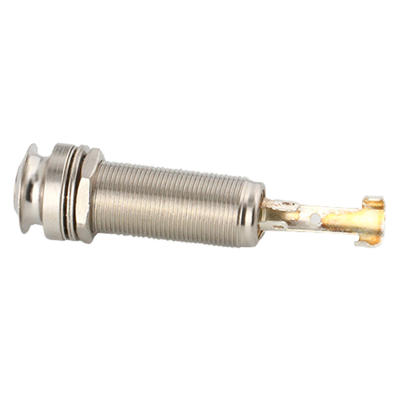 nickel threaded cylinder output jack for guitar endpin. Black Bedroom Furniture Sets. Home Design Ideas