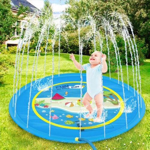 "Sprinkler for Kids Sprinkler Splash Mat Outdoor Lawn Water Pool Pad Toys 59/"" 67/"""