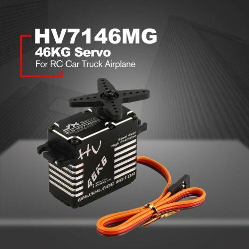 BLS-HV7146MG 46KG HV Steel Gear CNC Structure Digital Brushless Standard Servo N