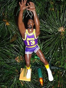 LOS-ANGELES-LAKERS-purple-jersey-CHRISTMAS-ORNAMENT-WILT-CHAMBERLAIN
