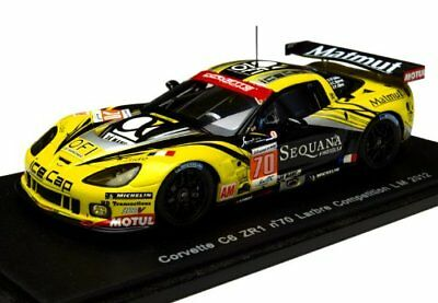 Corvette C6 Zr1 #70 28th Lm 2012 Belloc / Bourret / Gibon 1:43 Model Spark Model Delizioso Nel Gusto