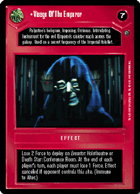 Near Mint//Mint REFLECTIONS I star wars ccg swccg Expand The Empire FOIL