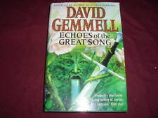 David Gemmell Echoes of the Great Song First Edition First Print Hardback
