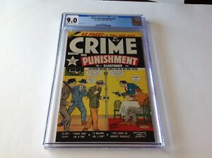 CRIME-AND-PUNISHMENT-26-CGC-9-0-SINGLE-HIGHEST-GRADED-COPY-LEV-GLEASON-COMICS